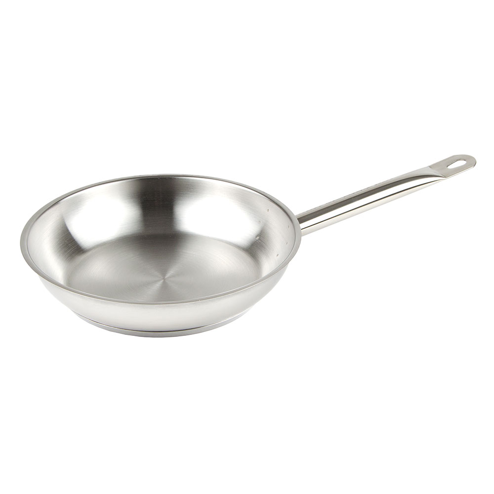 "Update SFP-09 9"" Stainless Steel Frying Pan w/ Hollow Metal Handle"