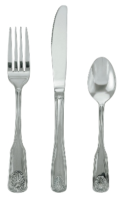 Update International SH-503-N Shelley Dessert Spoon - 18/0 ga Stainless, Mirror-Polish