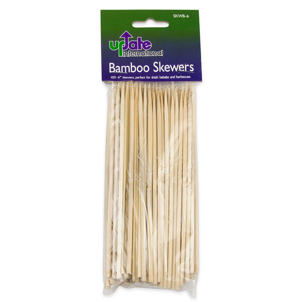 "Update SKWB-6 6"" Bamboo Skewers"