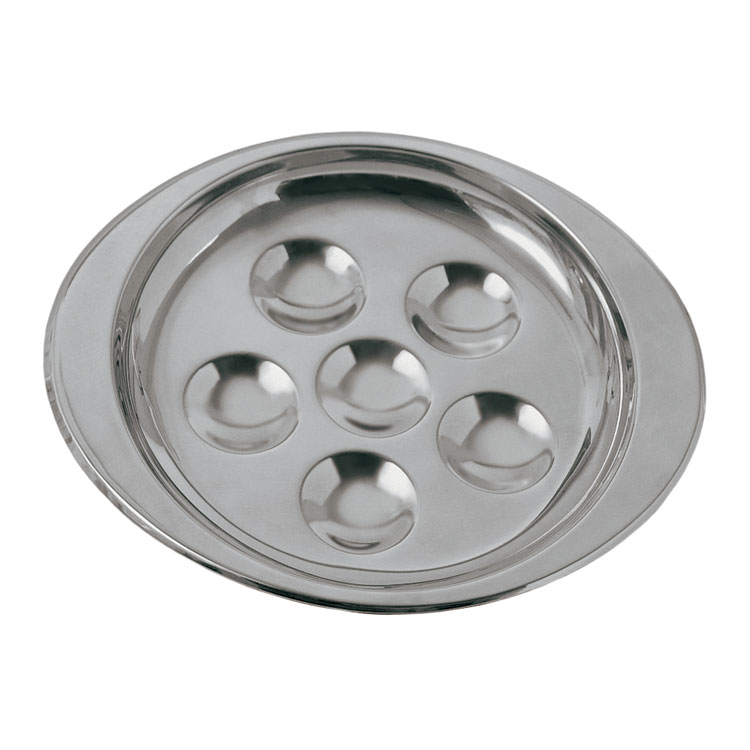 Update SN-PL6 6-Hole Snail Dish - 18/8 Stainless