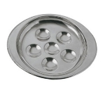 Update International SN-PL6 6-Hole Snail Dish - 18/8 Stainless