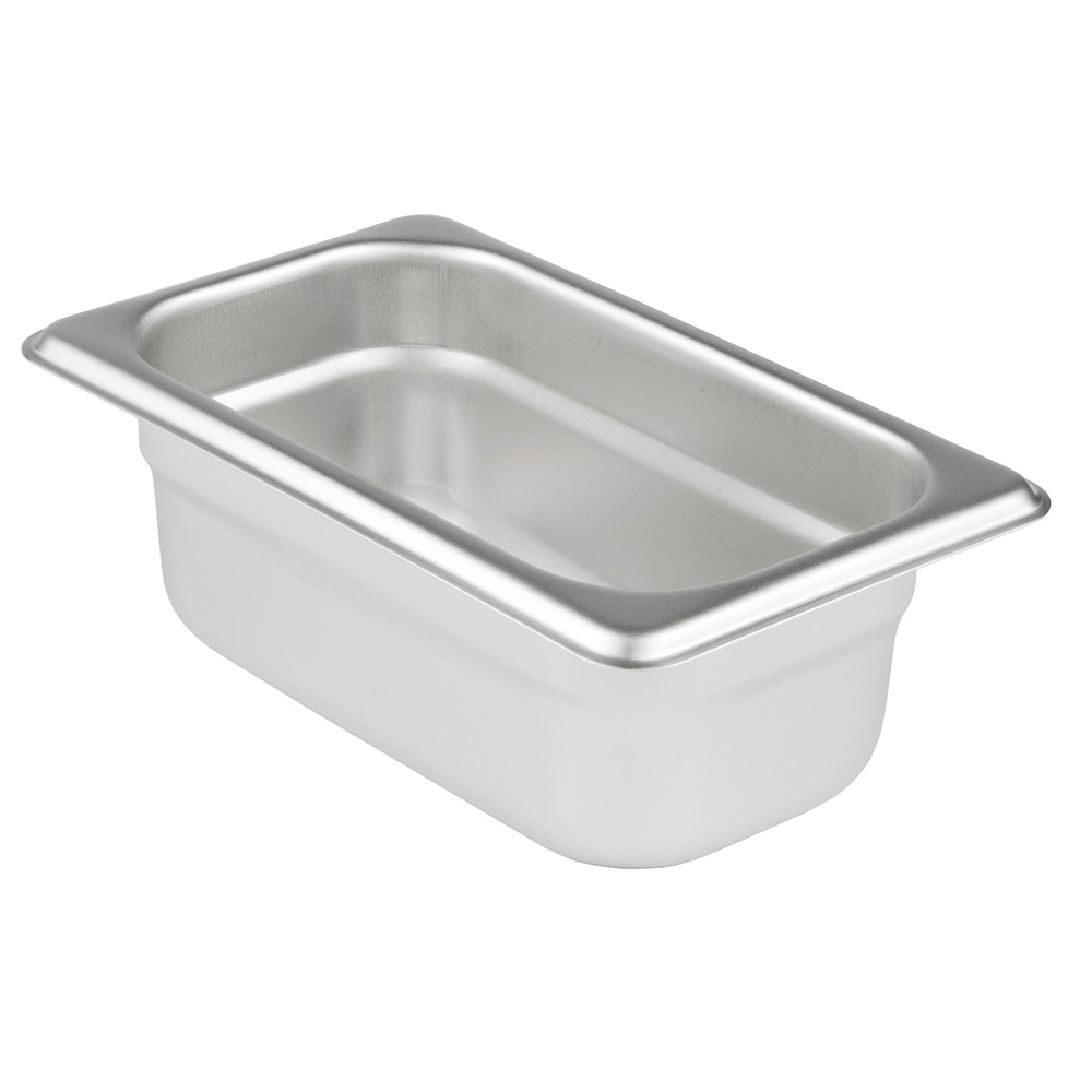 Update International SPH-112 1/9 Size 2-1/2 in Deep Anti-Jam Steam Table Pan Restaurant Supply