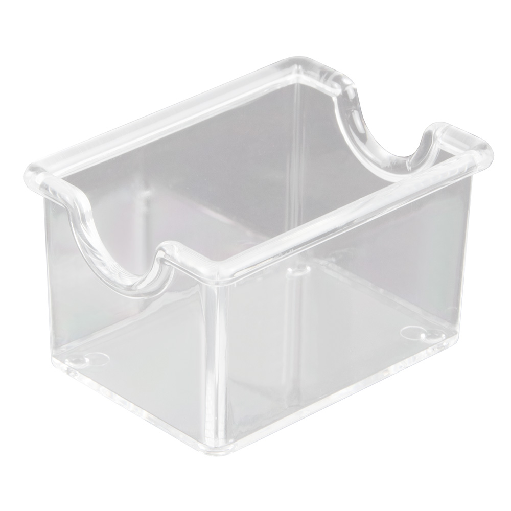 Update SPH-CL Plastic Sugar Pack Holder - Clear