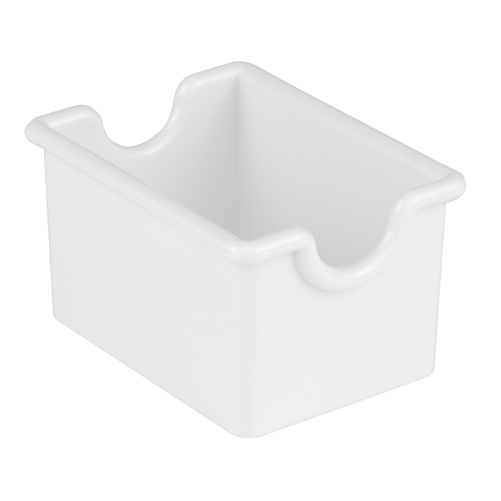 Update SPH-WH Plastic Sugar Pack Holder - White