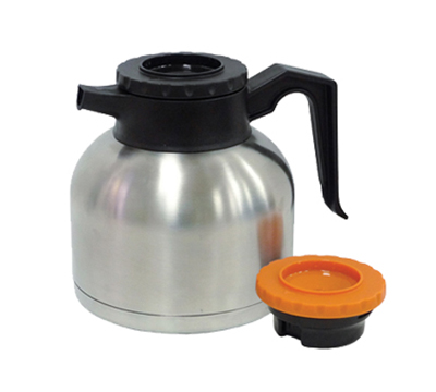 Update International SQ-19B&O 1.9-liter Coffee Decanter - Bru-Thru Lid, Stainless