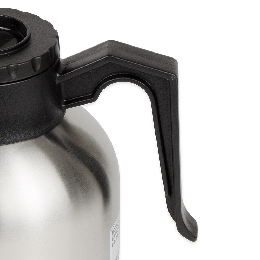 Update SQ-19B&O 1.9-liter Coffee Decanter - Bru-Thru Lid, Stainless