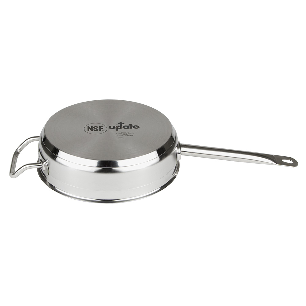 Update SSAU-3 3-qt SuperSteel Induction Saute Pan with Cover - Stainless