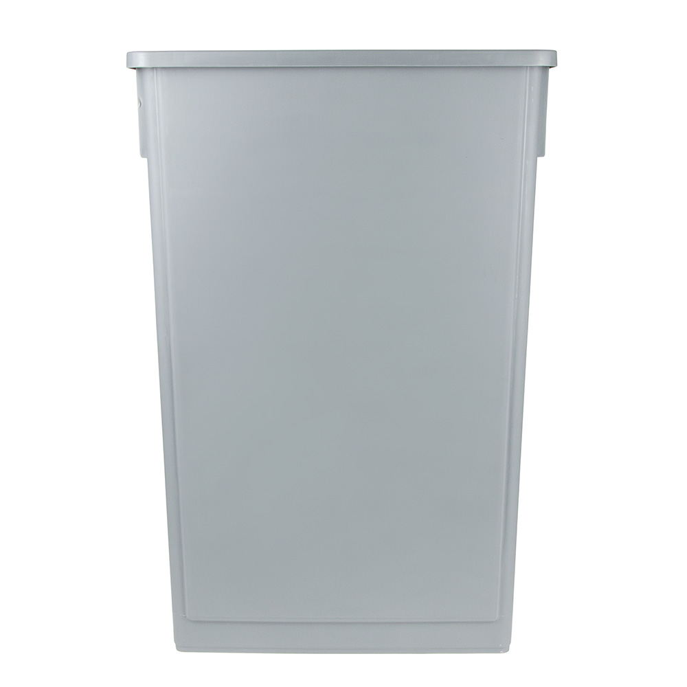 "Update SSC-23G 23-gal Rectangle Slim Trash Can, 20.13""L x 11.13""W x 29.5""H, Gray"