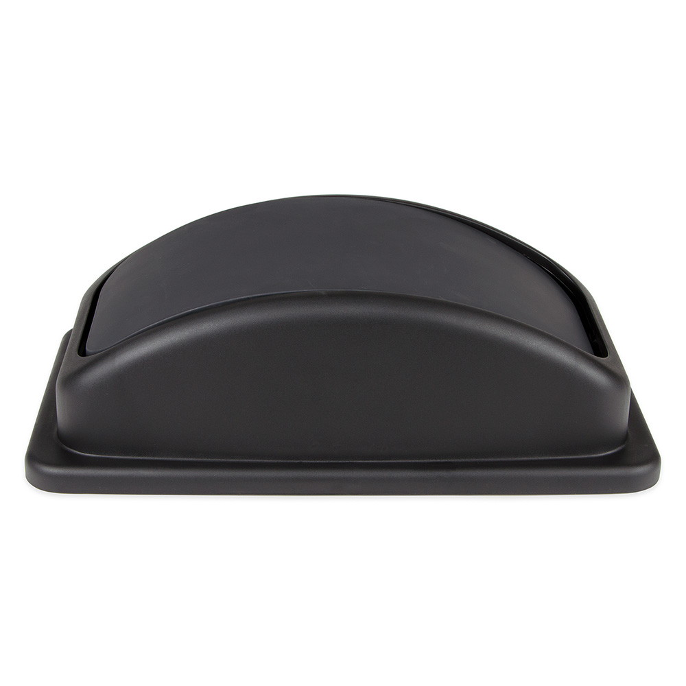 Update SSCL-23BK Rectangle Dome Trash Can Lid - Plastic, Black