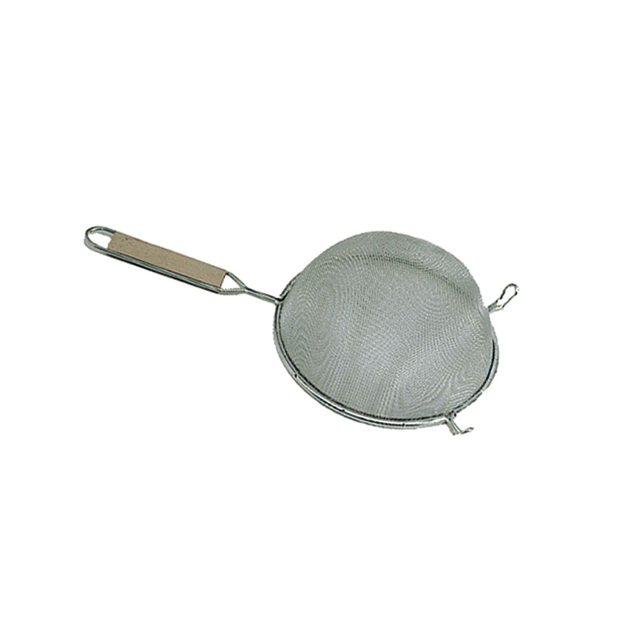 "Update SSF-6/SS 6-1/4"" Fine Mesh Single Strainer - Stainless"