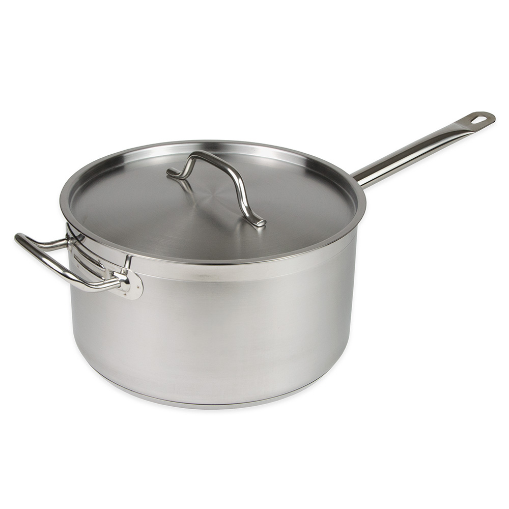 Update SSP-10 10-qt Saucepan w/ Cover - Induction Compatible, Stainless