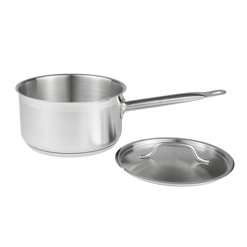 Update SSP-3 3.5-qt Stainless Steel Saucepan w/ Hollow Metal Handle