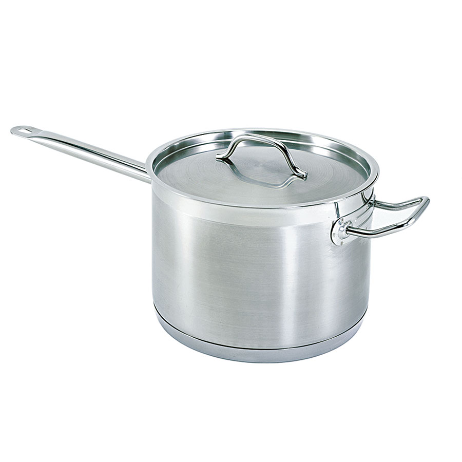 Update SSP-7 7.5-qt Stainless Steel Saucepan w/ Hollow Metal Handle