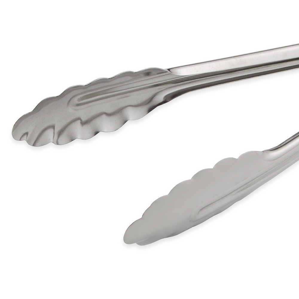 """Update ST-9 9"""" Stainless Spring Tongs"""