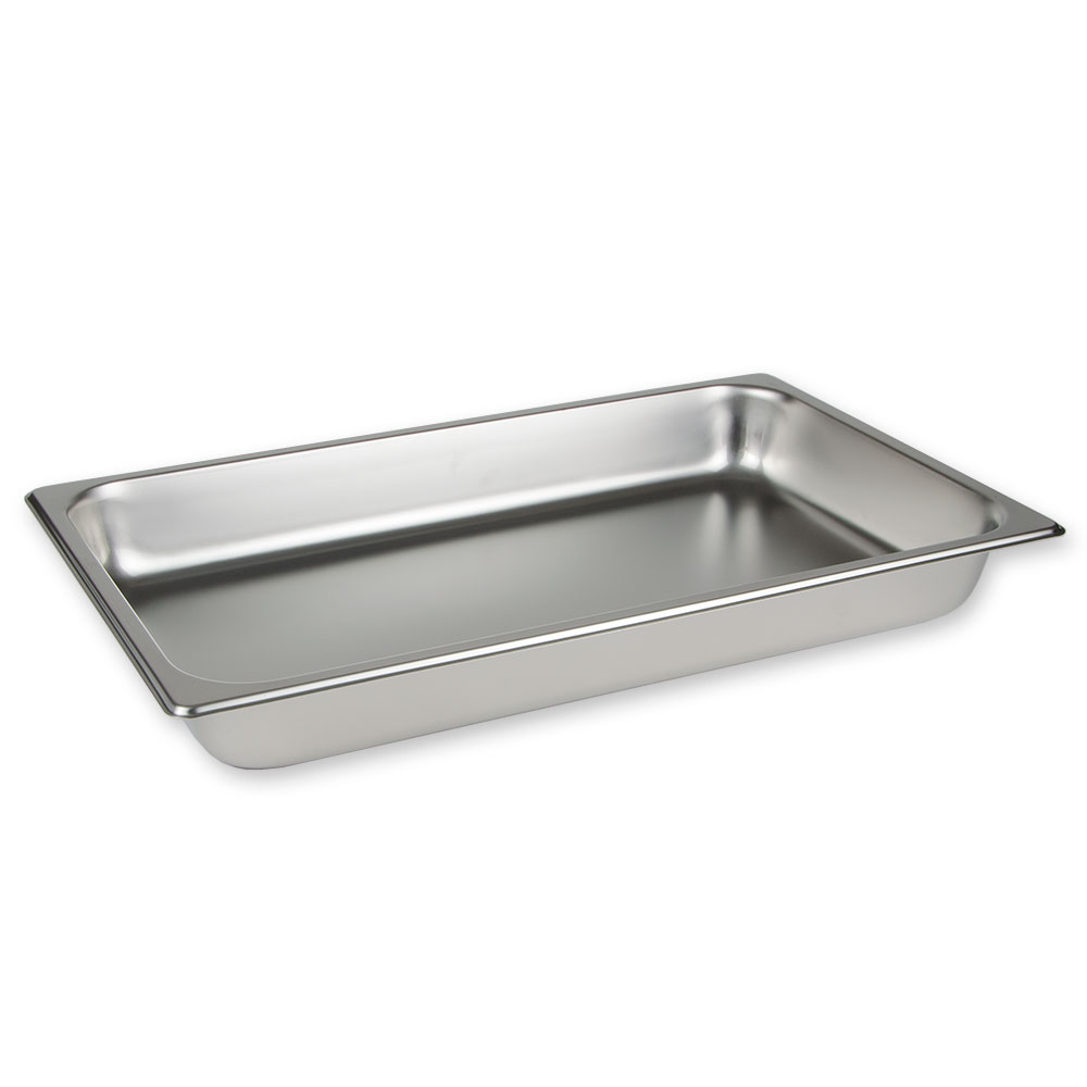 Update International STP-1004 Full Size 4 in Deep Stainless Steel Steam Table Pan Restaurant Supply