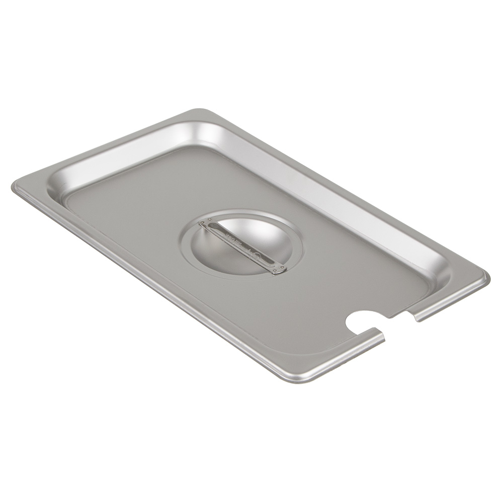 Update International STP-25CHC Fourth-Size Steam Pan Cover, Stainless