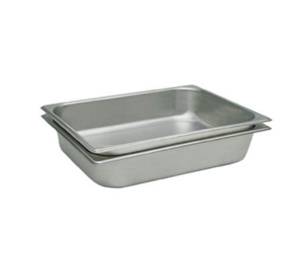Update International STP-502PF Half Size 2-1/2 in Deep Perforated Steam Table Pan Restaurant Supply