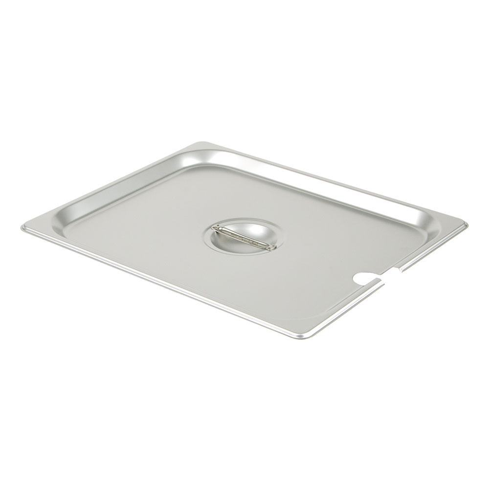 Update International STP-50CHC Half-Size Steam Pan Cover, Stainless