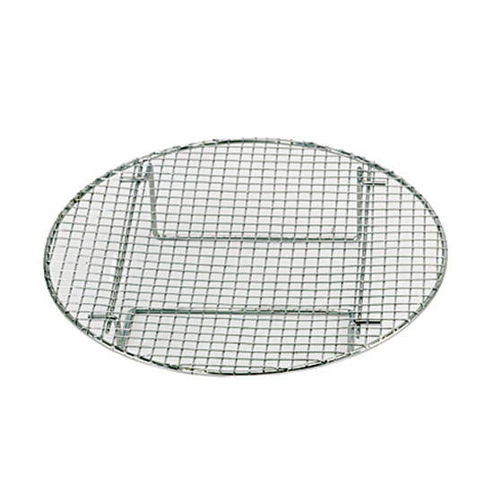 "Update STR1275 12-3/4"" Round Steamer Rack - Chrome"