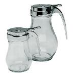 Update International SYDP-06 6-oz Syrup Dispenser - Glass/Chrome