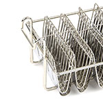 Update TABK-8PH Taco Fryer Basket w/ 8-Bowl Capacity