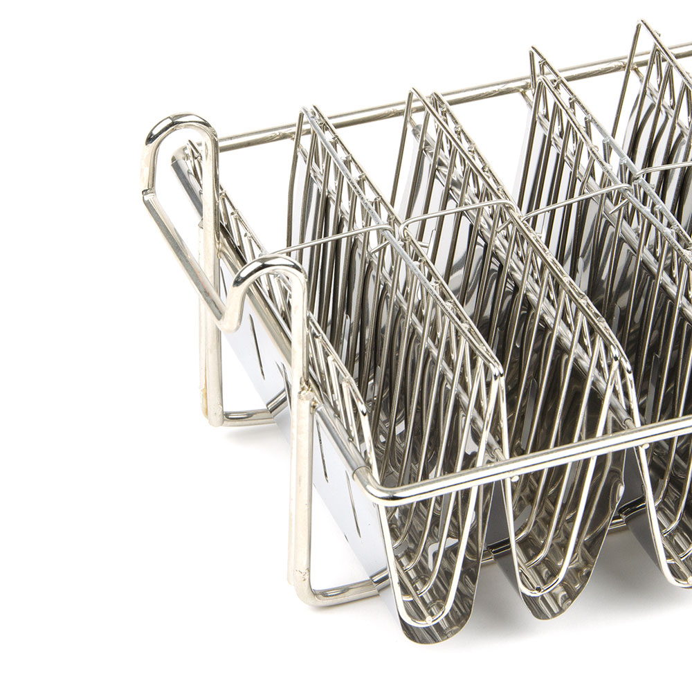Update TABK-8PH Taco Fryer Basket w/ 8-Bowl Capacity