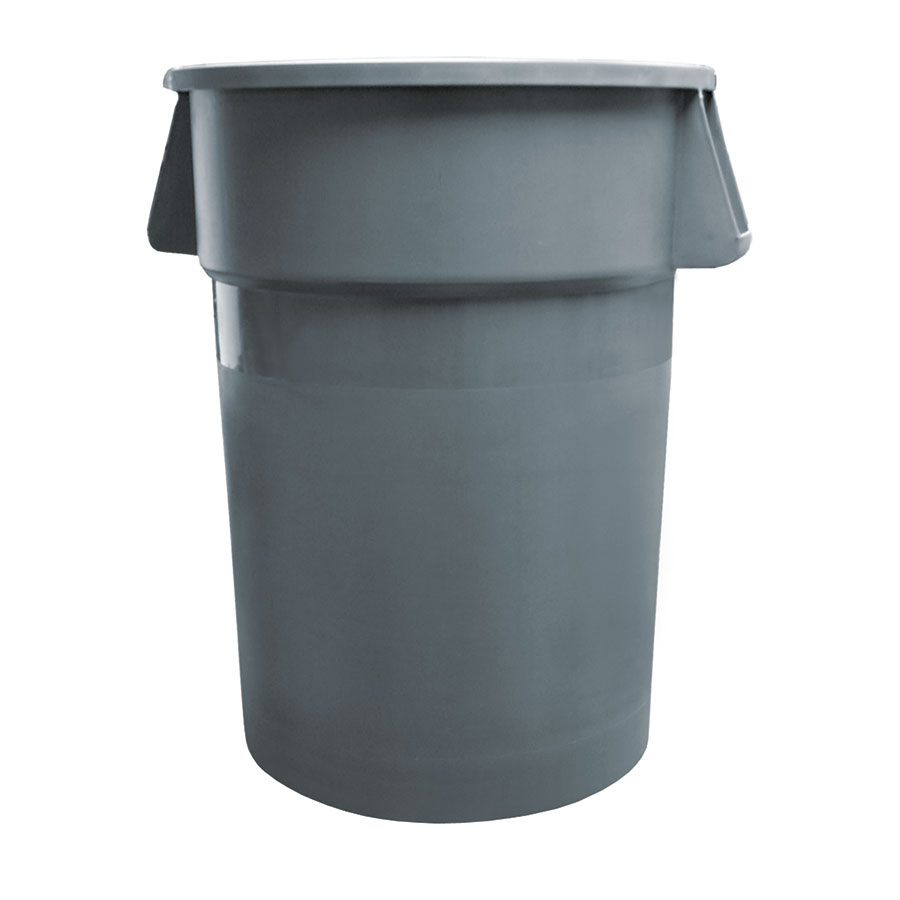 Update International TC-44G 44-gal Trash Can - Polypropylene