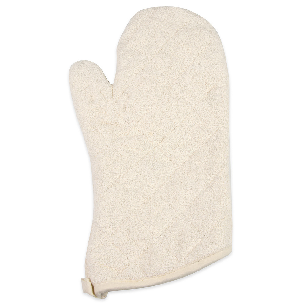 "Update TEC-13 13"" Terry Cloth Oven Mitt"