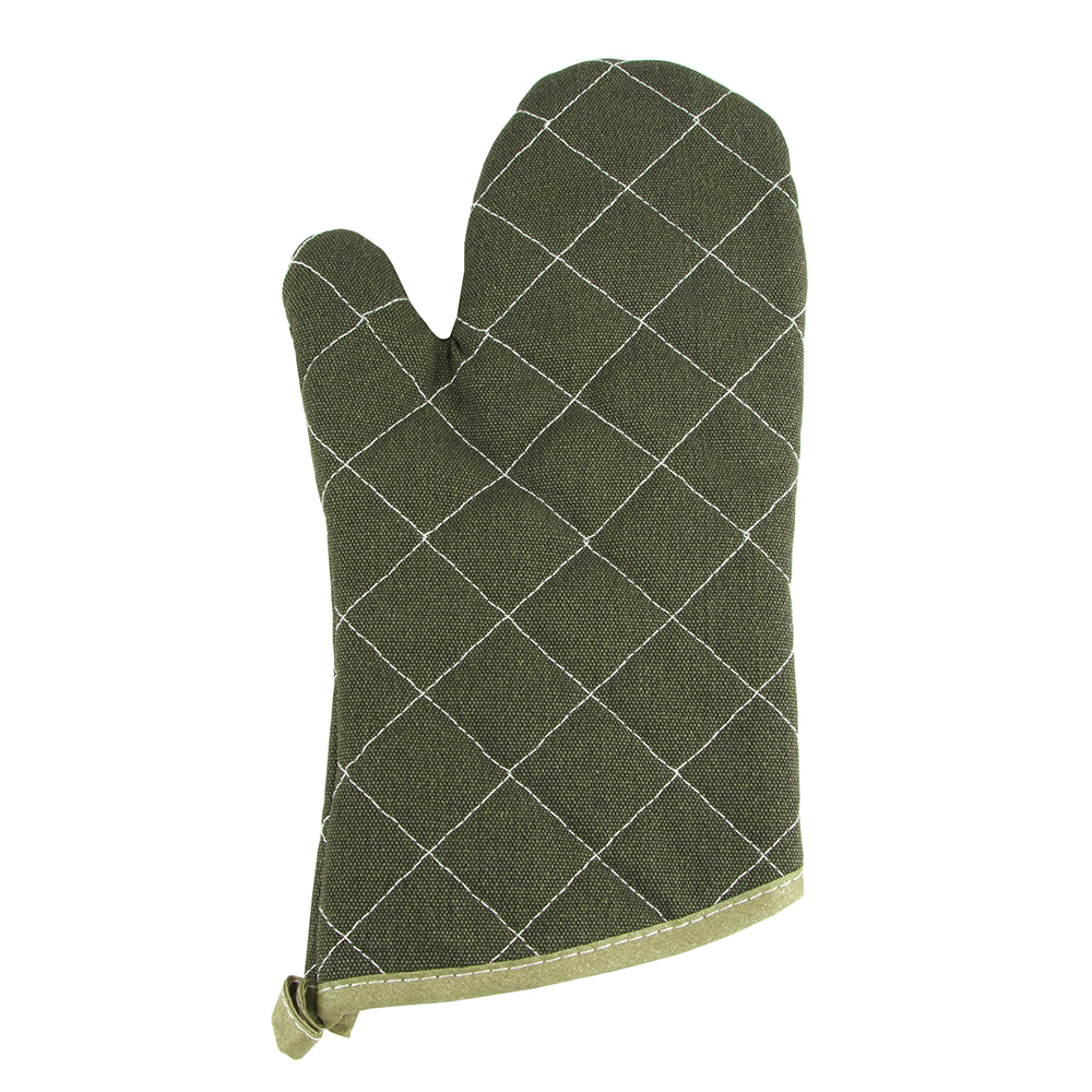 "Update International TFR-13 13"" Flame Retardant Oven Mitt"