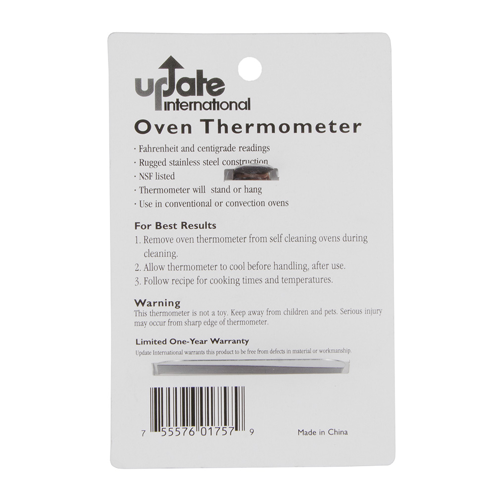 """Update THOV-20 2"""" Dial Oven Thermometer"""