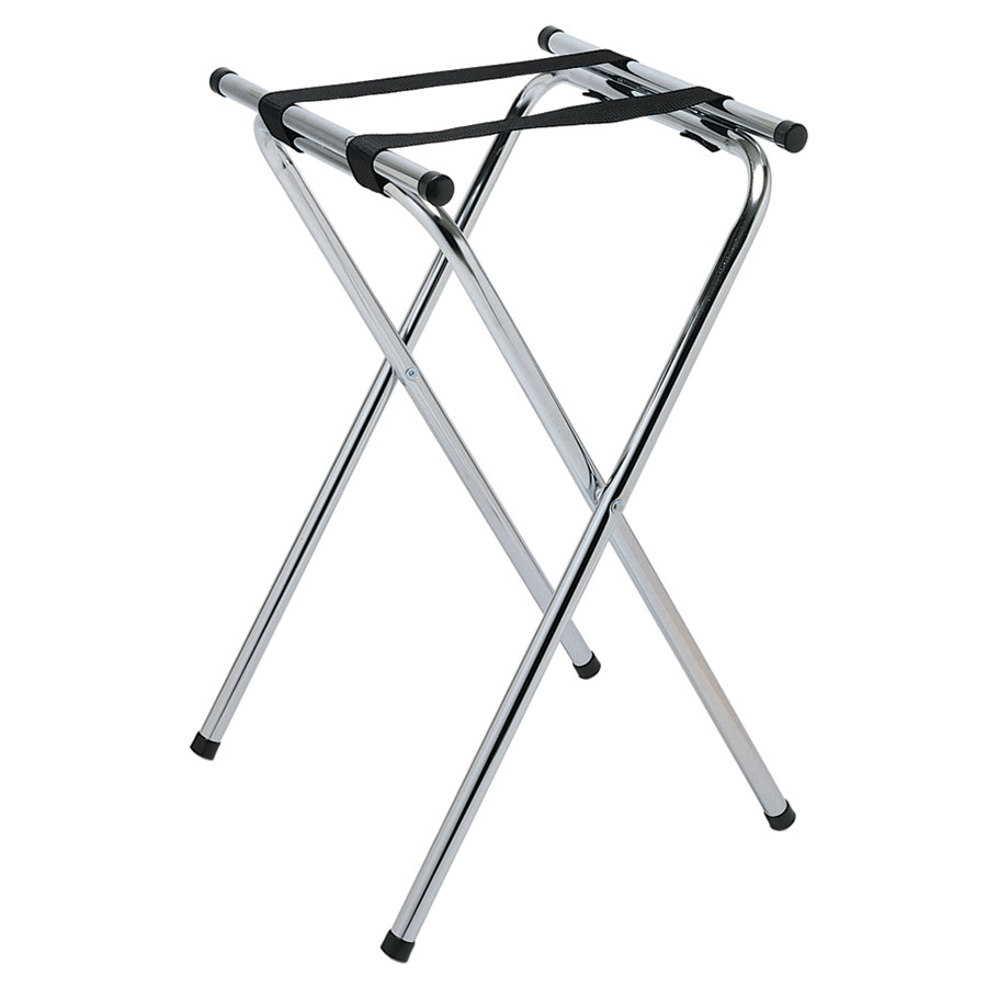"Update TSC-31 31"" Tray Stand - Chrome Plated"