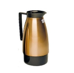 Update UD1000PT 2-Liter Insulated Vacuum Server w/ Black Auto Pour Top, Copper