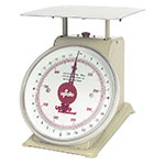 "Update International UP-72 7"" Fixed Dial Scale - 2-lb Capacity, 1/4-oz Graduations"