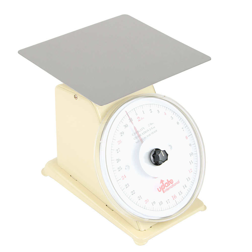 """Update UP-72R 7"""" Rotating Dial Scale - 2-lb Capacity, 1/4-oz Graduations"""