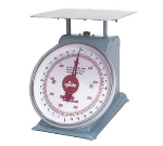 "Update International UP-75 7"" Fixed Dial Scale - 5-lb Capacity, 1/2-oz Graduations"