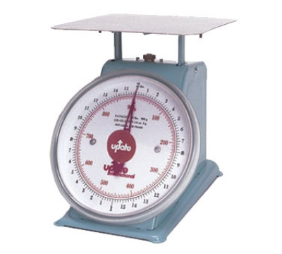 "Update UP-75 7"" Fixed Dial Scale - 5-lb Capacity, 1/2-oz Graduations"