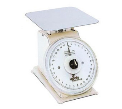"Update International UP-75R 7"" Rotating Dial Scale - 5-lb Capacity, 1/2-oz Graduations"