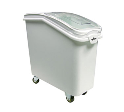 Update International IGBN-21 21-gal Ingredient Bin with Lid - White
