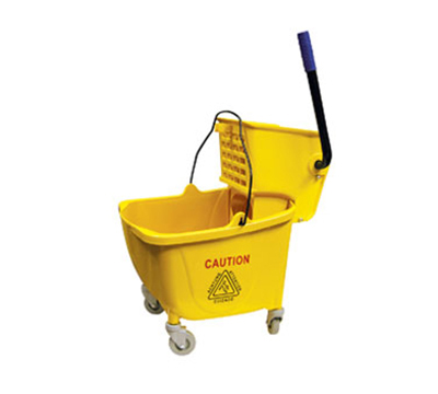Update International MBK-9 9-gal Mop Bucket with Wringer -  Yellow