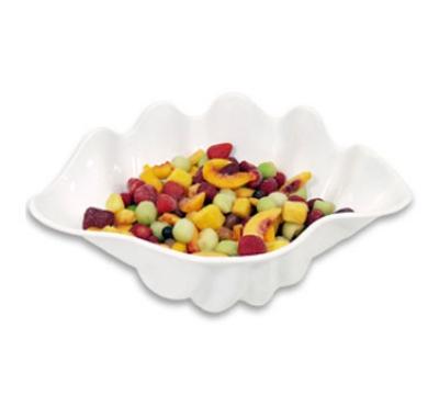 Update International SSB-1W 1-qt Shell Salad Bowl - White