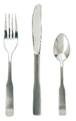 Update International WA-305 Washington Dinner Fork - 18/0 ga Stainless, Satin-Polish