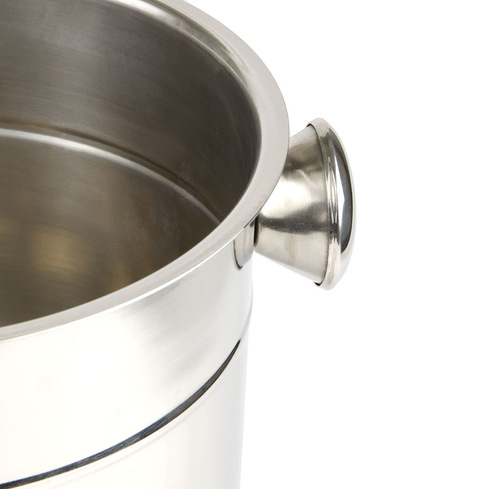 "Update WB-80 8-7/8"" Wine Bucket - Stainless"