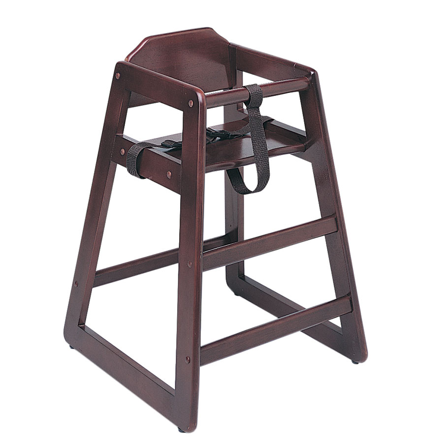 Update WD-HCM Infant High Chair - Mahogany Finish (Unassembled)