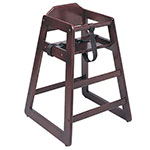 Update WD-HCMA Infant High Chair - Mahogany Finish (Assembled)
