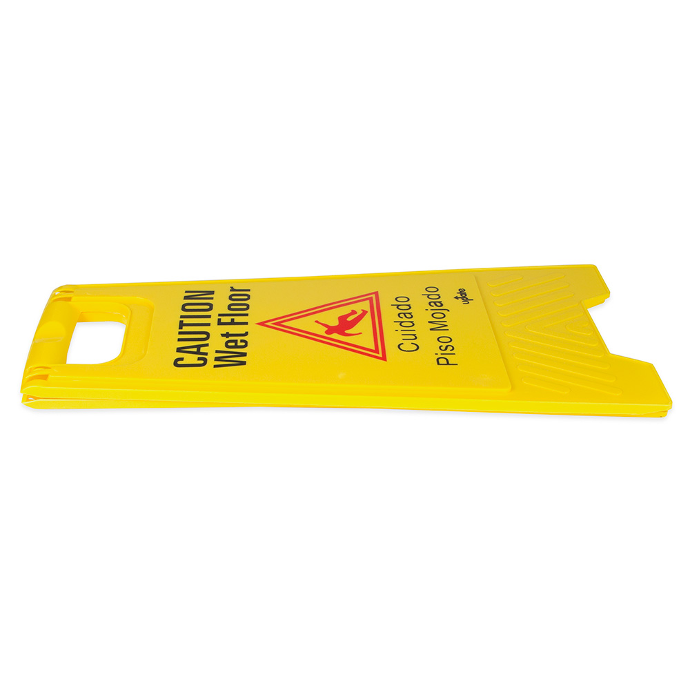 """Update WFS-25 Wet Floor Sign - 24x12"""" Yellow"""