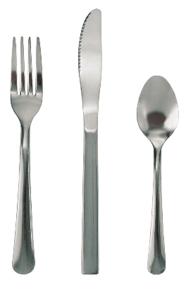 Update International WM-33 Windsor Dessert Spoon - Medium Weight, 18/0 ga Stainles