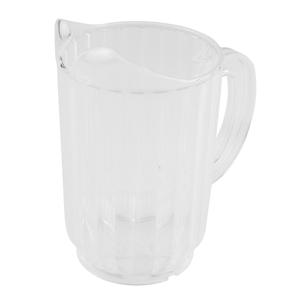 Update International WP-32SC 32-oz Water Pitcher - Clear