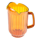 Update International WP-60PB 60-oz Water Pitcher - Polycarbonate, Amber