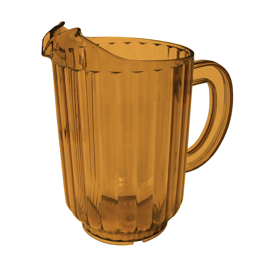 Update WP-60SB 60-oz Water Pitcher - SAN Plastic, Amber