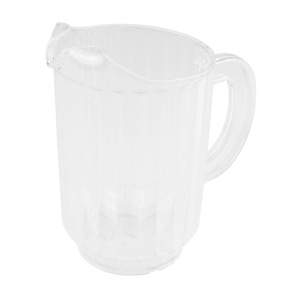 Update International WP-60SC 60-oz Water Pitcher - SAN Plastic, Clear